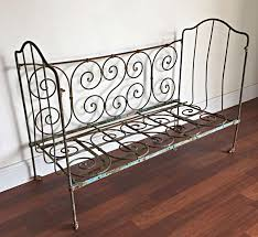 Wrought Iron Daybed Breathtaking Wrought Iron Daybed Antique White Black Ikea Bidcrown