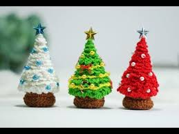 tiny crochet tree awesome ornaments micro