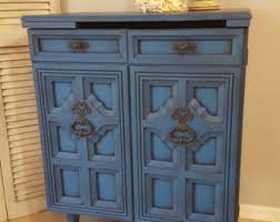 Distressed Wood Bar Cabinet Sold Re Purposed Antique Radio Cabinet Display Cabinet