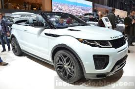 land rover convertible range rover evoque convertible front three quarter at the 2016