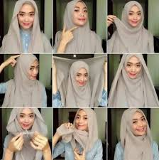 tutorial hijab pashmina tanpa dalaman ninja tutorial hijab simple untuk tunjang aktifitas harian kamu