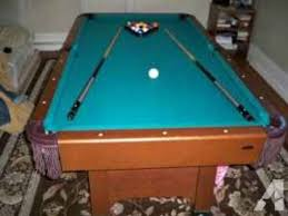 pool tables for sale in maryland 81 halex pool table for sale w accessories furniture in bowie md