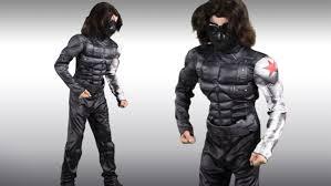 Captain America Halloween Costume Kids Kids Winter Soldier Classic Muscle Costume