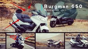 news 2017 suzuki burgman 650 executive with a heated seat for