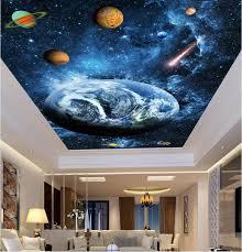 online get cheap sky wall murals aliexpress com alibaba group 3d ceiling murals wall paper sky blue dream planet decor painting photo 3d wall murals wallpaper
