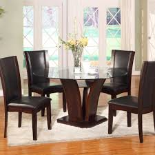 dining room furniture adams furniture camelia espresso round dining set