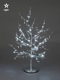 drop down christmas lights 60cm pre lit twig tree christmas decoration xmas festive 24 led