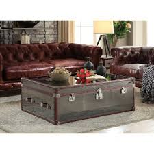 Leather Top Coffee Table Leather Top Coffee Tables Hayneedle