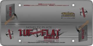 lexus f sport black steel license frame amazon com cruiser accessories 76200 tuf flat shield novelty