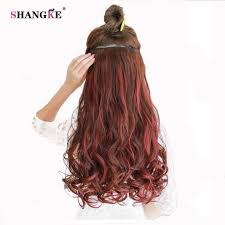 Colored Hair Extension by Popular Clip In Colored Hair Extensions Buy Cheap Clip In Colored