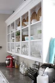 Kitchen Open Shelves Ideas by 100 Open Cabinets Kitchen Ideas 55 Best Kitchen Open