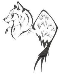 simple wolf tattoos search tattoos simple