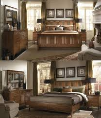 used kincaid furniture bedroom set antique wooden solid wood