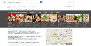 bing now offers peak traffic times at restaurants for every day of