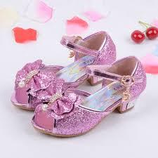 wedding shoes for girl princess 2017 children kids sequin sandals children wedding