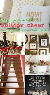 remodelaholic holiday decorating ideas for every room in your home