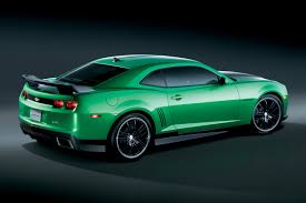 green camaro ss green cars camaro ss and grey stripes on
