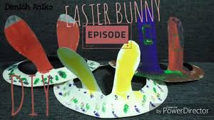 animal crafts paper plate bunny ears crafts ideas for easter