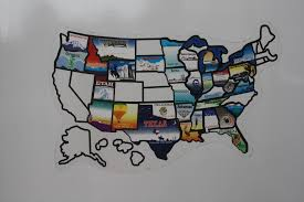 Visited States Map States Visited Rv There Yet