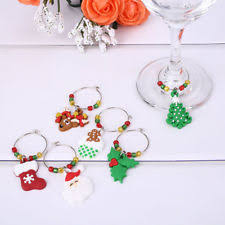 wine glass christmas ornaments unbranded glass snowflake christmas ornaments ebay