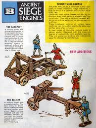 siege engines britains ancient siege engines 1967 catalogue collectibles