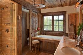 cabin bathroom designs heartwarming rustic bathroom designs for the winter