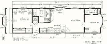 Rv 2 Bedroom Floor Plans Park Models