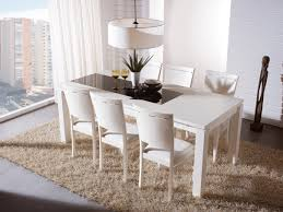 expandable dining table set dining room stunning dining area design implemented with plain white