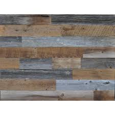 reclaimed wood reclaimed wood brown and gray 3 8 in thick x 3 5 in w x varying