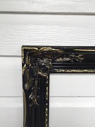 shabby chic frames large baroque frame black gold frame