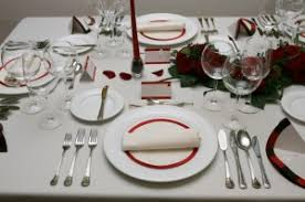 Formal Setting Of A Table Dining Etiquette Etiquette Survival