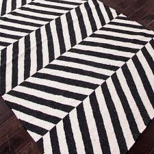 Modern Black And White Rugs Awesome Black And White Area Rug 810 Walmart Rugs On 8 X 10 Within