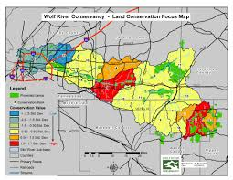 Map Of Memphis Tennessee by Conservation Focus Map