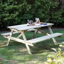 wooden picnic tables u2013 the uk u0027s no 1 garden furniture store