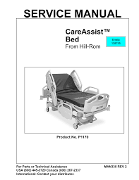 careassist bed service manual hill