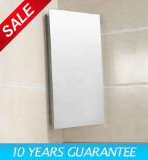 Stainless Steel Mirrored Bathroom Cabinet by Luxury Stainless Steel Wall Corner Mirror Storage Cupboard