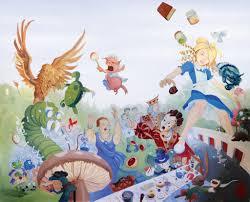28 alice in wonderland wall murals alice in wonderland alice in wonderland wall murals alice in wonderland mural by tommi 75 on deviantart