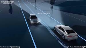 ferrari headlights at night audi matrix laser lights animation youtube