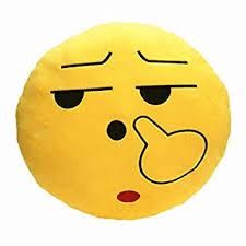smiley bureau accessoire de bureau accueil emoticon smiley emoji oreiller