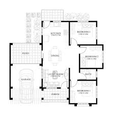 Small House Plans With Porch Small House Design 2013004 Pinoy Eplans Modern House Designs