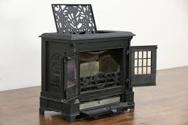 sold coalbrookdale signed darby 1980 english iron wood stove