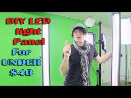 cheap studio lights for video diy led light panel how to build video photography studio lighting