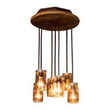 mason jar chandeliers houzz