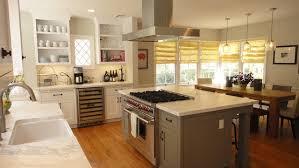 range in island kitchen marble countertop kitchen woodland builders