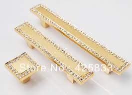 64mm 24k gold drawer pulls antique brass plating zinc alloy