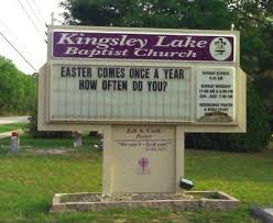 29 church signs that make you scratch your