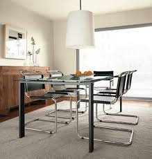Parsons Dining Table With Soren Dining Chairs Modern Dining Room - Room and board dining chairs