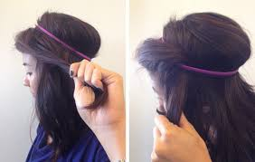 headband roll how to the princess roll hairstyle birchbox