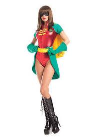 Halloween Robin Costume Batman 5 Piece Robin Costume Leotard Skirt Cape U0026 Gloves