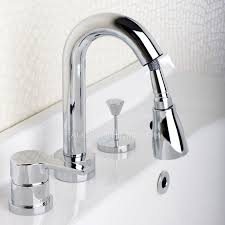 pull out widespread modern bathroom faucets